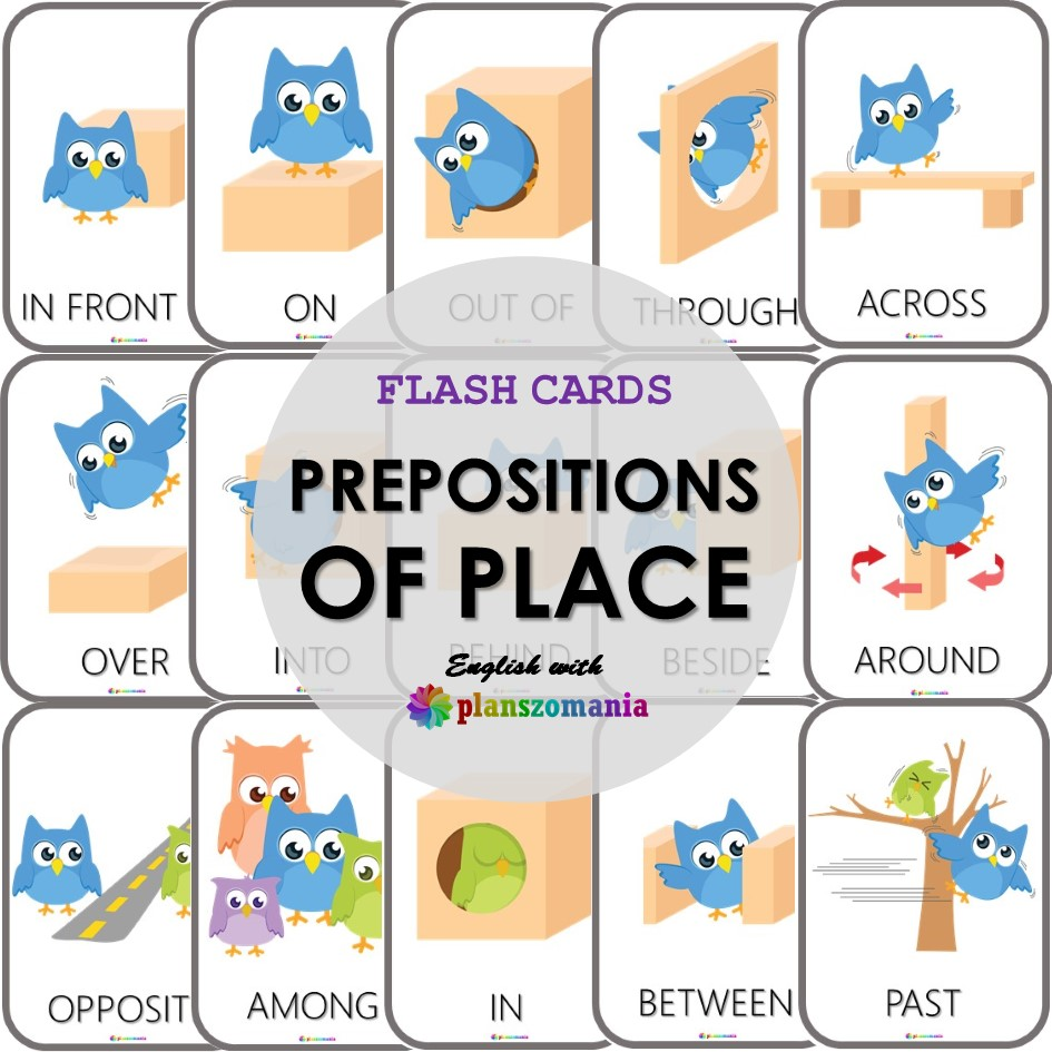 PREPOSITIONS-OF-PLACE-FLASH-CARDS