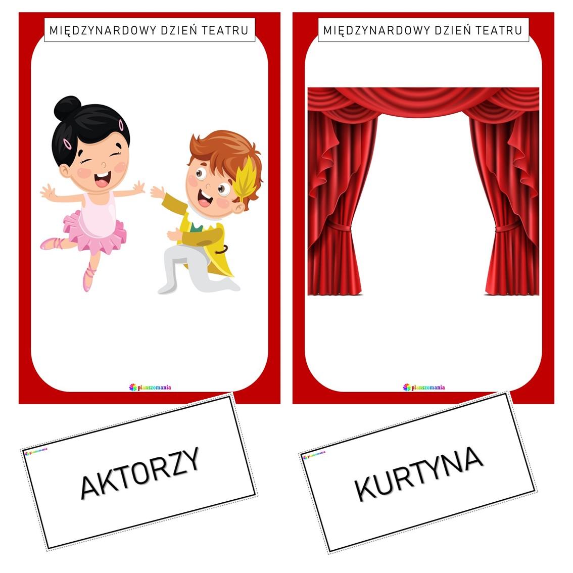 międzynarodowy dzień teatru teatr plansze edukacyjne dydaktyczne dla dzieci dla nauczycieli pdf