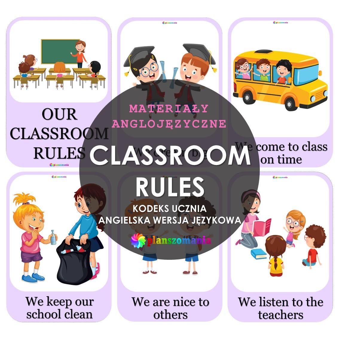 CLASSROOM RULES PDF