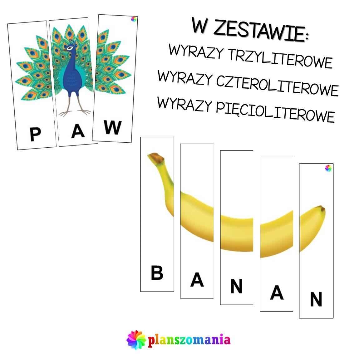 puzzle obrazkowe literkowo do rozcięcia przedszkole szkoła podstawowa edukacja wczesnoszkolna do pobrania pdf za darmo