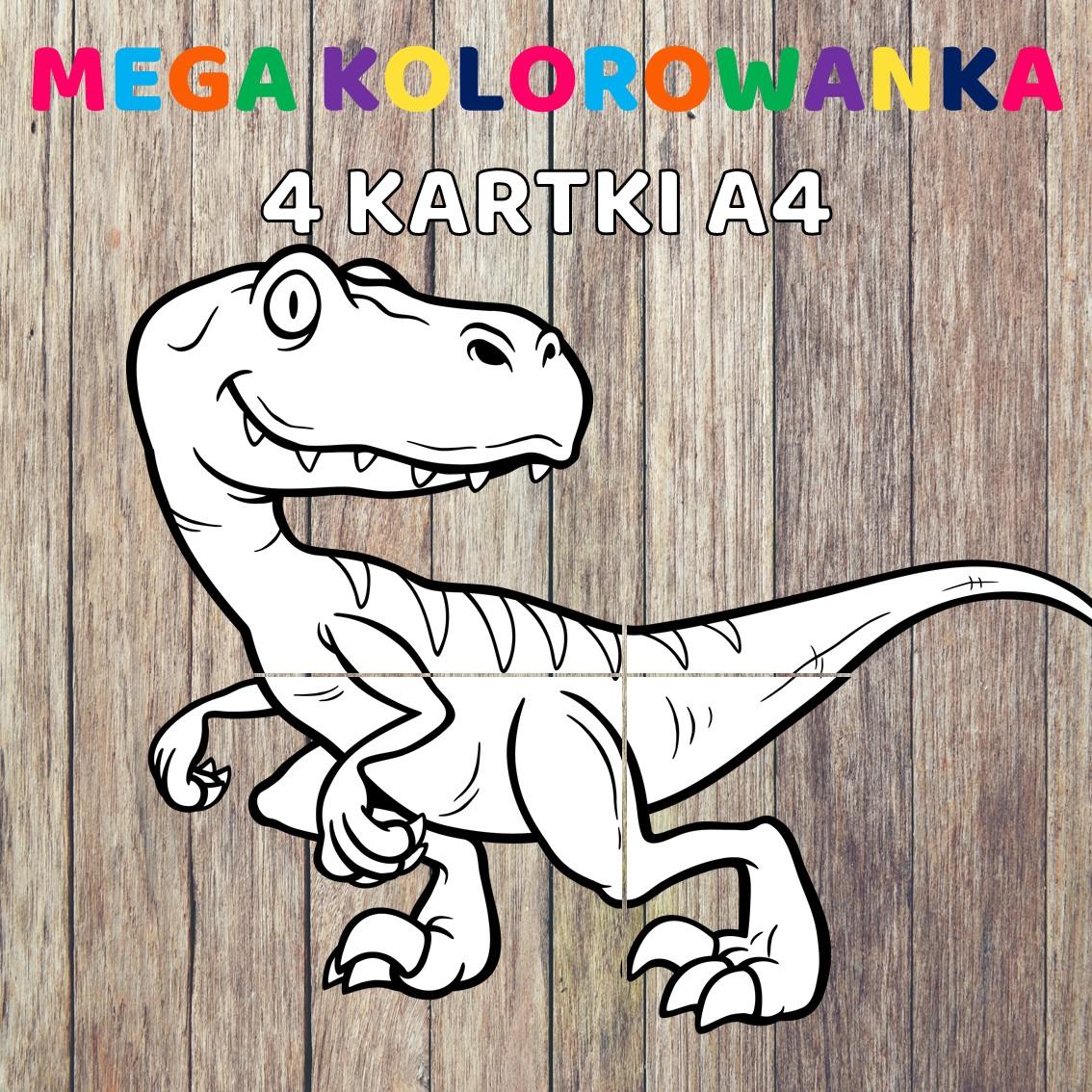 Dinozaury pakiet pomocy edukacyjnych świat odkrywców pdf do pobrania scenariusz zajęć mega kolorowanka wielkoformatowa
