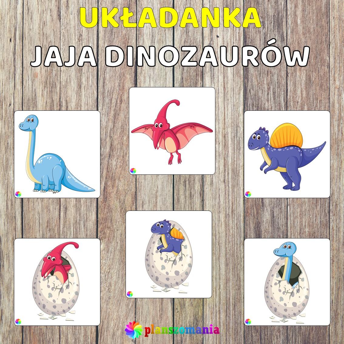 Dinozaury pakiet pomocy edukacyjnych świat odkrywców pdf do pobrania scenariusz zajęć układanka edukacyjna planszomania