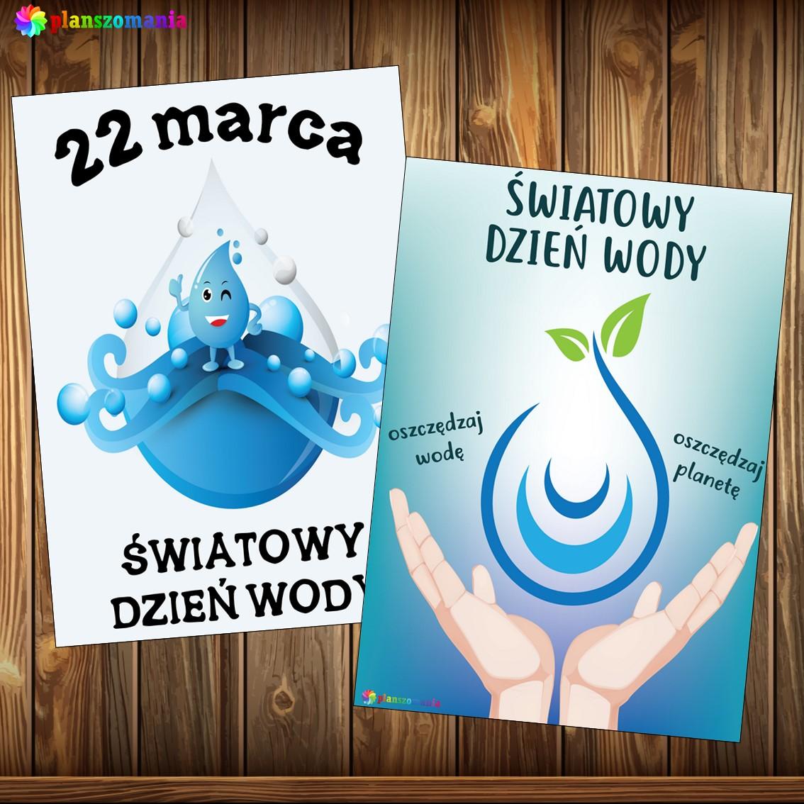 światowy dzień wody planszomania pomoce dydaktyczne pdf plakaty