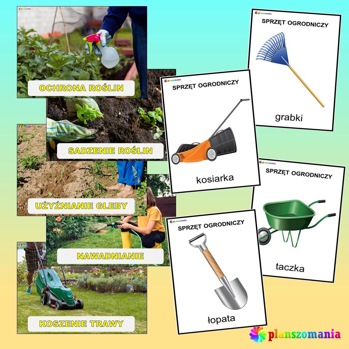 wiosna dużypakiet edukacyjny pdf do druku dla dzieci planszomania scenariusz zajęć edukacja wczesnoszkolna ogród