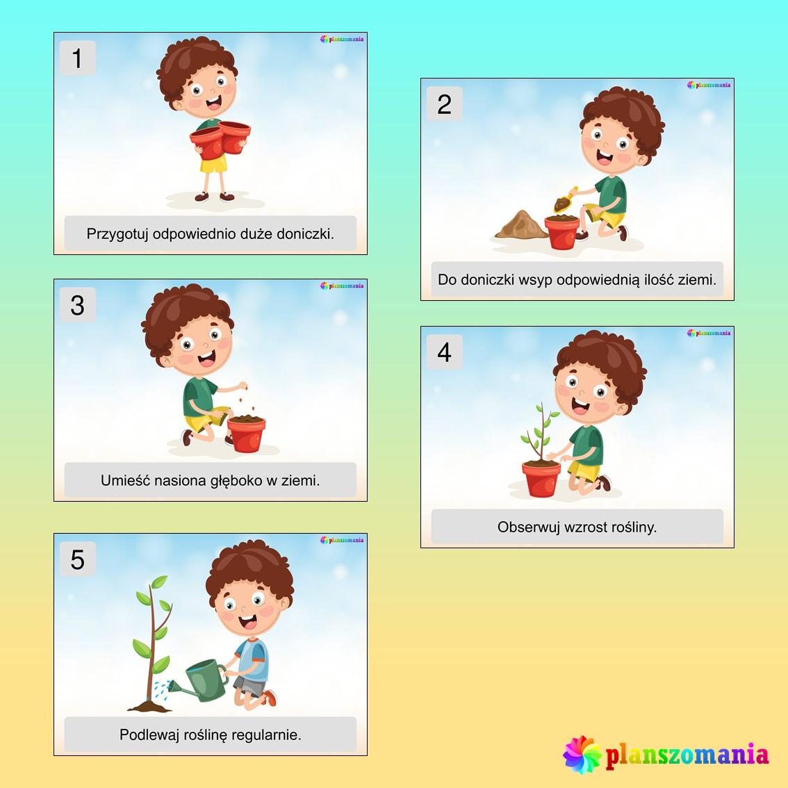 wiosna dużypakiet edukacyjny pdf do druku dla dzieci planszomania scenariusz zajęć edukacja wczesnoszkolna w ogrodzie